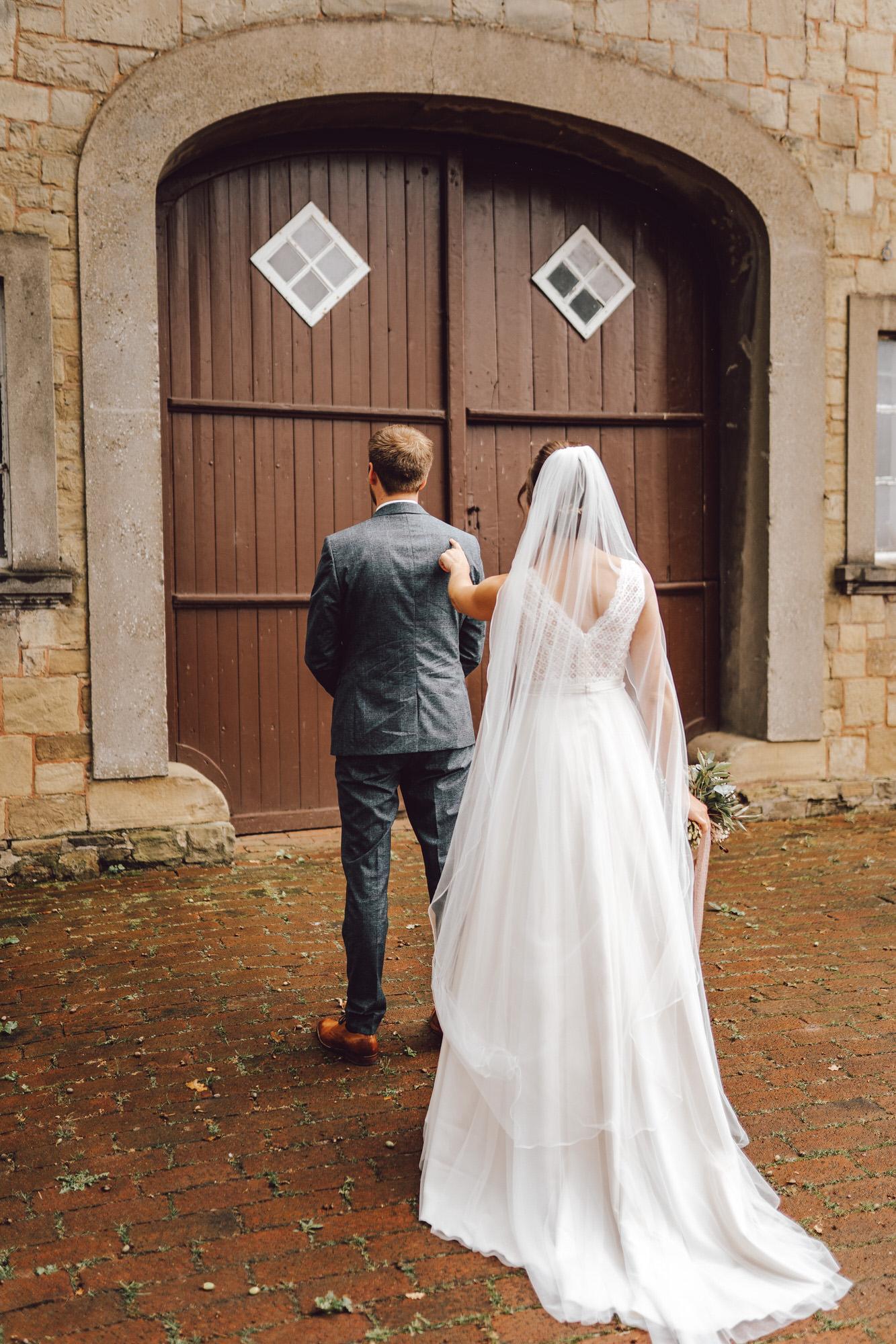 Brautpaar First Look